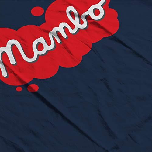 Women's Retro Splatter Mambo T Navy shirt Paint Blue Logo nvIqOrxId