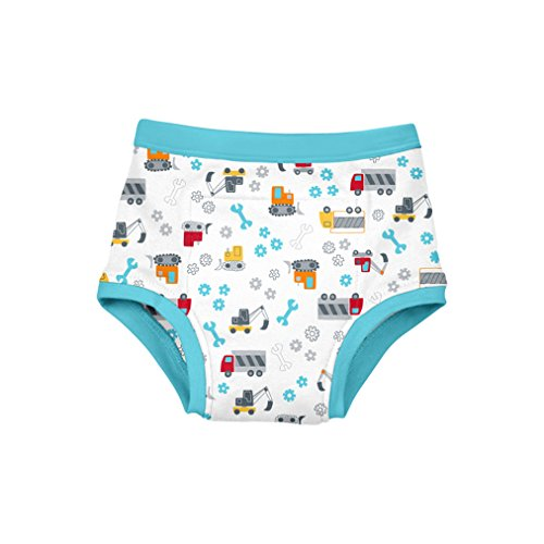 green sprouts Reusable Absorbent Training Underwear | Encourages toddler to transition from diapers to underwear | Cotton layer allows toddler to feel wetness, Absorbent pad & waterproof lining