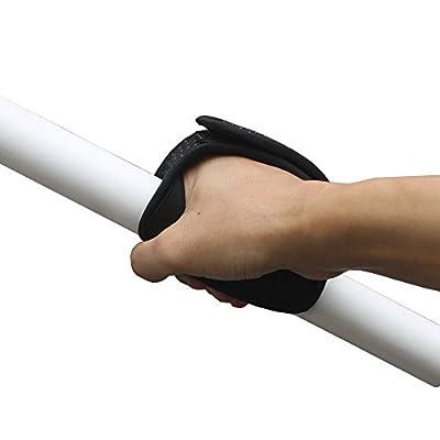 Universal Kayak Paddle Comfort Grips kayak paddle gloves SUP paddle grip (1 Pair) Fits both solid shaft ,or taken apart shaft.