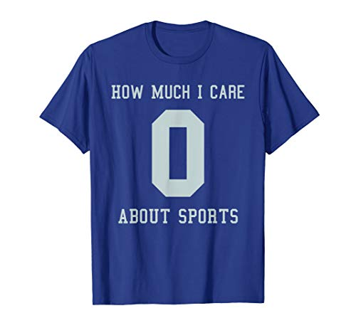 Funny Sports Jersey T-Shirt Costume Gift For Sport Haters]()