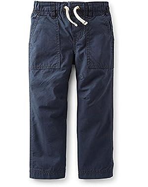 Baby Boys' Ripstop Pants - Navy