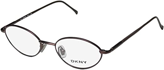 50-18-140, Matte Brown DKNY 6218 Mens//Womens Vision Care European Style Designer Full-rim Flexible Hinges Eyeglasses//Eye Glasses