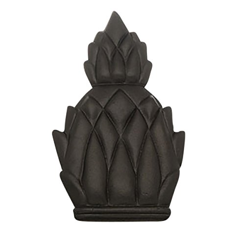 Door Knocker Black Cast Iron Pineapple 6