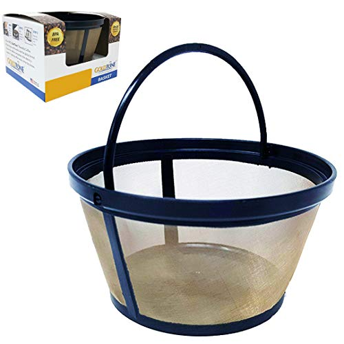 - GoldTone Reusable 8-12 Cup Basket Filter fits Black & Decker Coffee Machines and Brewers. Replaces your Black+Decker Reusable Coffee Filter and Permanent Black & Decker Coffee Basket Filter (1 PACK)