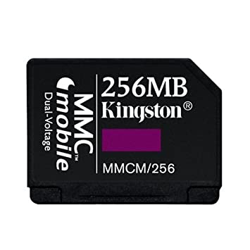 Amazon.com: Kingston Flash Memory Card - 256 MB - MMCmobile ...