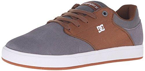 DC Mens Mikey Taylor Skateboarding Shoe, Carb?n/Blanco, 38.5 D(M) EU/5.5 D(M) UK