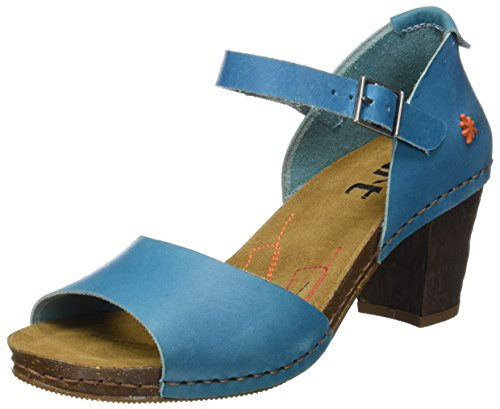 Art WoMen 0145 Mojave I Meet Sandals with Ankle Strap Blue (Albufera)