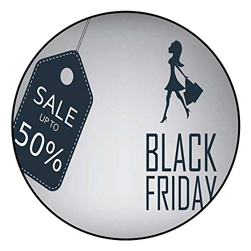 (Door Mat IncreaseBlack Friday Sale Poster Template with Elegant Sexy Radius150/R59.05)