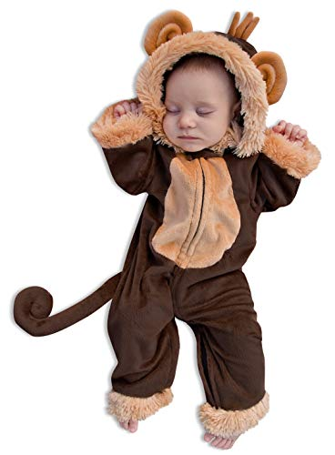 Princess Paradise Milo the Monkey Costume, 0 to 3 Months ()