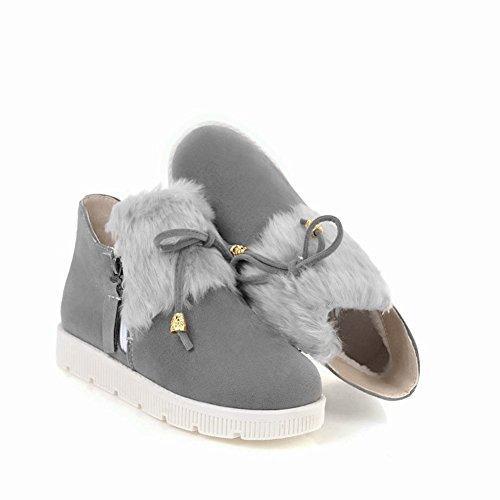 Stivaletti Flat Da Donna Freddi Latasa Womens Grey