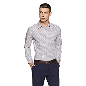 Diverse Men's Checkered Formal Shirt