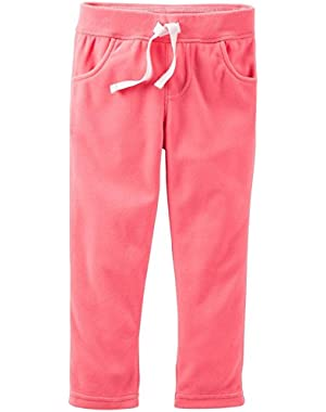 Microfleece Pants (Baby) - Coral-6 Months