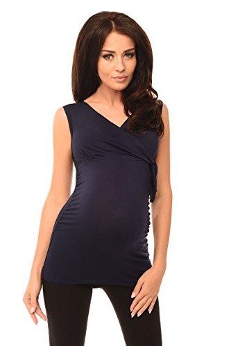Purpless Maternity Nueva Superior Maternidad V- Cuello 5104 Navy