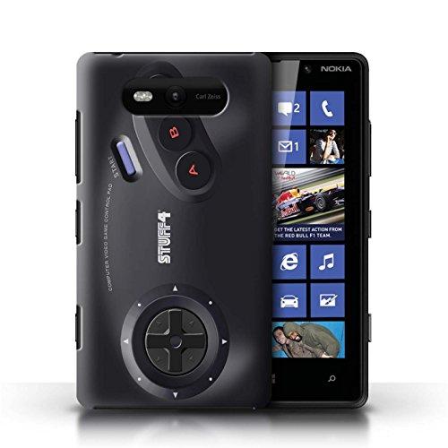 Etui / Coque pour Nokia Lumia 820 / Sega Megadrive conception / Collection de Console (jeux vidéo)