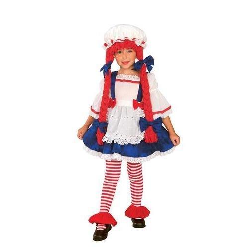 Yarn Babies Rag Doll Girl Toddler/Child Costume Toddler 3-4 -
