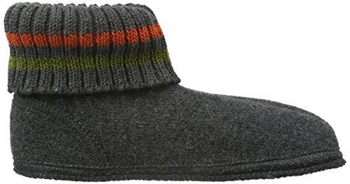 Haflinger Paul, Zapatillas de Casa, Infantil Gris (Anthrazit)