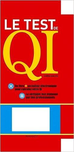 Le Test De Qi Les Questions Linterprétation De Vos Résultats Pdf
