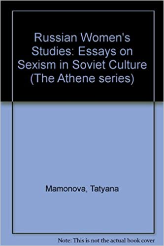 russian women s studies essays on sexism in soviet culture the russian women s studies essays on sexism in soviet culture the athene series english and russian edition tatyana mamonova 9780080364827 com