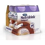 Nutridrink Compact Chocolate Danone Nutricia com 4 unidades de 125ml