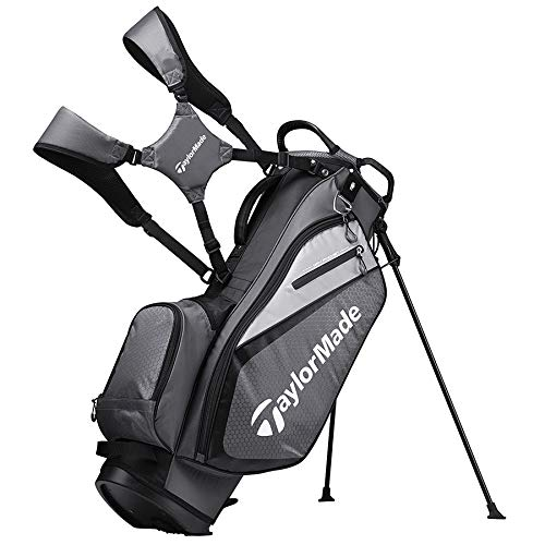 TaylorMade 2019 Golf Select Stand Bag, Gray/Black by TaylorMade