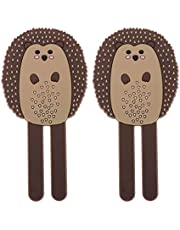 UPKOCH Refrigerator Magnetic Hooks Fridge Stickers Magnet Hedgehog Magnetic Wall Hooks Removable Key Holder Hanger for Home Kitchen Bathroom 2pcs