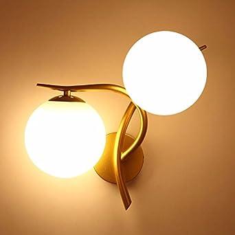 Bootu - Aplique LED arriba y abajo para lámparas de pared, cabeza de escalera, luces de pared, hotel, pasillo, dormitorio, salón, lámpara de pared: Amazon.es: Iluminación