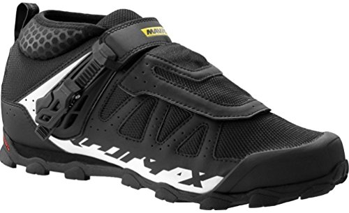 Mavic Crossmax XL Pro Shoes, Black/White, Size 8