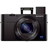 "Sony Cyber-shot DSC-RX100 III Digital Still Camera with OLED Finder, Flip Screen, WiFi, and 1"" Sensor"
