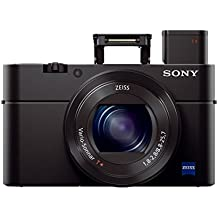 Sony RX100 III 20.1 MP Premium Compact Digital Camera w/1-inch sensor and 24-70mm F1.8-2.8 ZEISS zoom lens (DSCRX100M3/B)