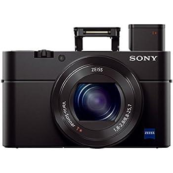 "Sony Cyber-shot DSC-RX100 III Digital Still Camera with OLED Finder, Flip Screen, WiFi, and 1"" Sensor"