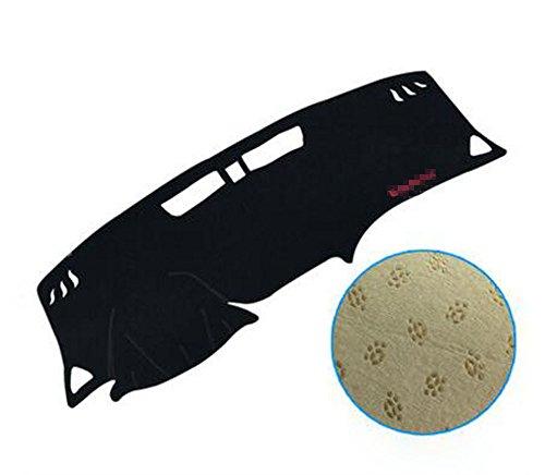 Salusy Black Dashboard Dash Protector Dash Mat Sun Cover Pad For Chevrolet Equinox 2018