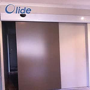 olide eléctrico puerta corredera Closer, automático bolsillo puertas correderas Slim modelo: Amazon.es: Bricolaje y ...