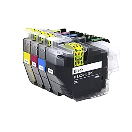 Pack de 4 Cartuchos de Tinta compatibles Brother LC3213 XL ...