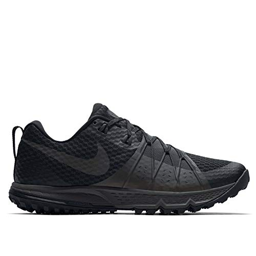 Nike Men's Air Zoom Wildhorse 4 Running Shoe Black/Anthracite-Anthracite 9.0