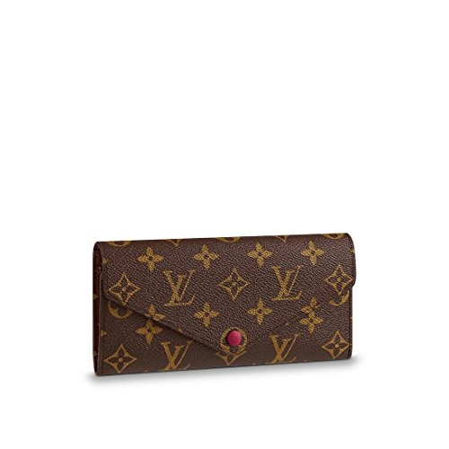 Louis Vuitton Monogram Canvas Fuchsia Josephine Wallet M60708