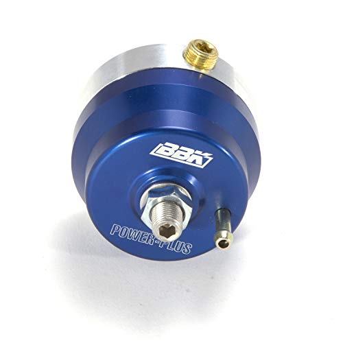 BBK 1706 Fuel Pressure Regulator - Fully Adjustable - CNC Machined Billet Aluminum - Direct Fit for Ford Mustang 5.0 And 302/351 EFI - Fuel 302 Injection Ford