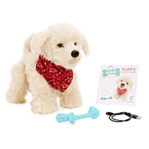 Georgie - Interactive Plush Electronic Puppy - 413AFJIOOxL - Georgie – Interactive Plush Electronic Puppy