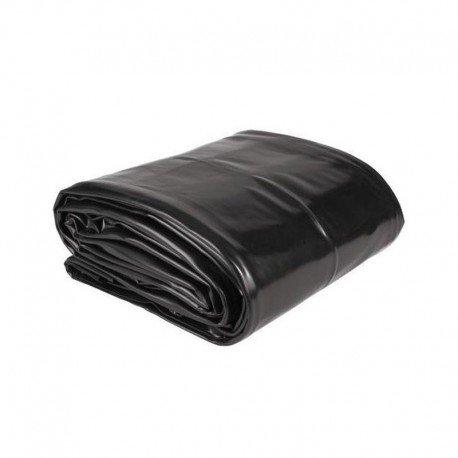AQUAKING Bâche PVC pour Bassin de Jardin - dim. 3x3m / épais. 0.5mm