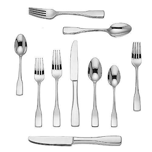 - Dansk 20 Piece Silver Flatware Set