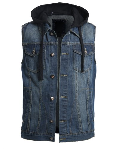 Hooded Jean Jacket: Amazon.com