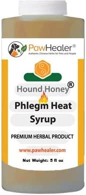 PawHealer Dog Cough Remedy-Hound Honey Syrup (Phlegm-Heat) - for Loud, Honking Coughs - 5 fl oz