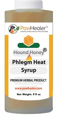 PawHealer® Dog Cough Remedy-Hound Honey Syrup (Phlegm-Heat) - for Loud, Honking Coughs - 5 fl oz