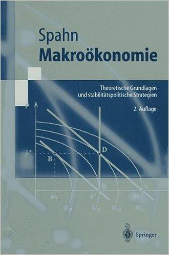 Book Makroökonomie: Theoretische Grundlagen Und Stabilitätspolitische Strategien (Springer-Lehrbuch) (German Edition)