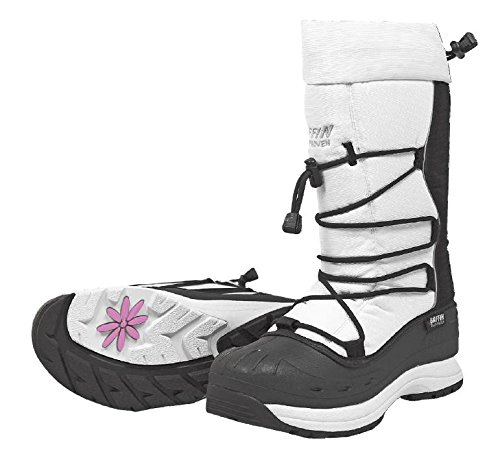 Baffin Women's SnoGoose Snowmobile Boots (8) (White)