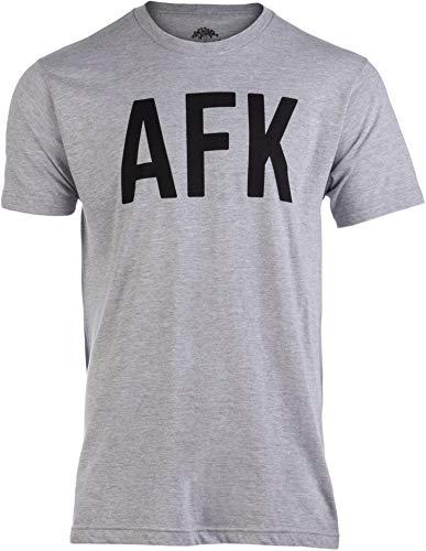 AFK | Away from Keyboard, Funny Video Gamer Gaming Player Men Women Joke T-Shirt-(Adult,2XL)