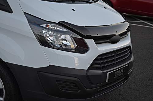 ALVM - Protector de capó de Piezas y Accesorios para Adaptarse a Transit Custom (2012-17): Amazon.es: Coche y moto
