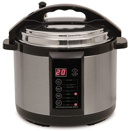 Amazon.com: Emson eléctrico interior Pressure Fumador 7 Qt ...