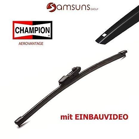 Champion aerovan Días plano Limpiaparabrisas Trasero trasera para limpiaparabrisas 280 mm 11 pulgadas