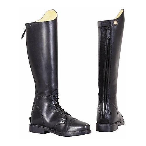- TuffRider Women's Baroque Field Short Boots, Black, 95 Wide by TuffRider