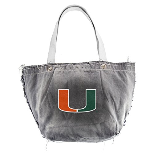 Littlearth NCAA Miami Hurricanes Vintage Tote